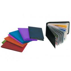 Portatarjetas de credito fabricadas en pvc base opaca capacidad 10 tarjetas