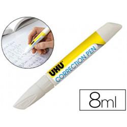 Corrector uhu lapiz 8 ml con punta metalica