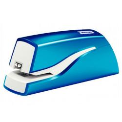 Grapadora petrus electrica e310 wow azul metalizado capacidad 12 hojas usa