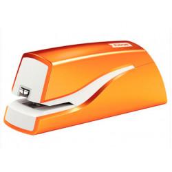 Grapadora petrus electrica e310 wow naranja metalizado capacidad 12 hojas