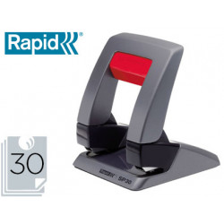 Taladrador rapid sp30 grafito/negro capacidad 30 hojas