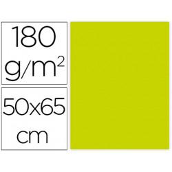 Cartulina liderpapel 50x65 cm 180g/m2 verde pistacho paquete de 25