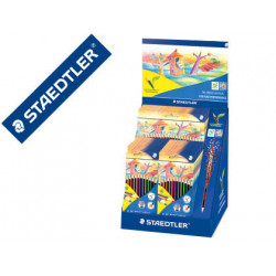 Lapices de colores staedtler wopex ecologico expositor de 20 cajas de 12 co