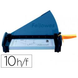 Cizalla fellowes fusion a4 de palanca hasta 10 hojas 80 gr