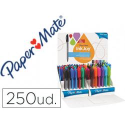Boligrafo paper mate inkjoy 100 punta media expositor de 250 unidades