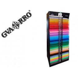 Expositor guarro metalico vacio 42 estantes para iris 50x65 cm 185 grs medi