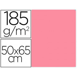 Cartulina guarro rosa chicle 50x65 cm 185 gr