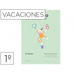 Cuaderno rubio vacaciones 1º primaria