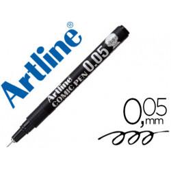 Rotulador artline calibrado micrometrico negro comic pen ek2805 punta poli