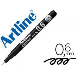 Rotulador artline calibrado micrometrico negro comic pen ek286 punta polia