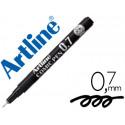 Rotulador artline calibrado micrometrico negro comic pen ek287 punta polia