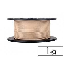 Filamento 3d colido gold wood pla 175 mm 1 kg madera