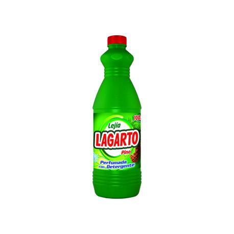 Lejia con detergente lagarto pino botella de 15 l