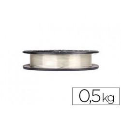 Filamento 3d colido gold pla translucido 175 mm 05 kg transparente