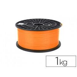 Filamento 3d colido gold pla 175 mm 1 kg naranja
