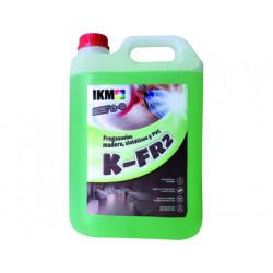 Limpiasuelos ikm para suelo de madera / sintentico / pvc garrafa de 5 litro