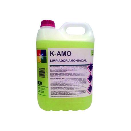Limpiador amoniacal ikm garrafa de 5 litros