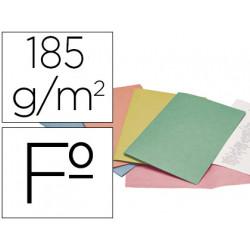 Subcarpeta cartulina liderpapel folio colores surt ptede 25 sdasretractil