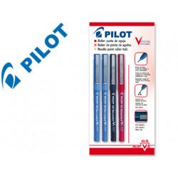 Rotulador pilot punta aguja v5 surtido 05 mm blister 2/az1/ne1/rom
