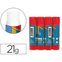 Pegamento imedio en barra 21gr blister de 4 unidadesm