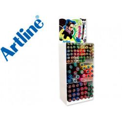 Expositor artline poster marker 96 uds colores surtidos 51 uds 2 mm 29 ud
