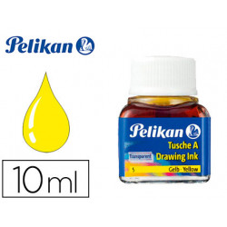 Tinta china pelikan amarillo n5 frasco 10 ml