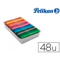 Rotulador pelikan colorado pen maxi caja de 48 colores