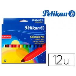Rotulador pelikan colorado pen maxi caja de 12 colores