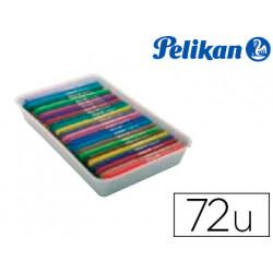 Rotulador pelikan colorado pen bandeja de 72 unidades colores surtidos