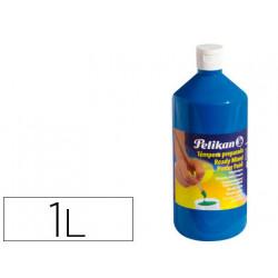 Tempera pelikan escolar 1000 ml 742/1000ml azul cian n 127