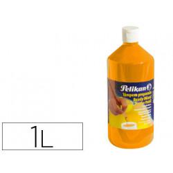 Tempera pelikan escolar 1000 ml 742/1000ml naranja n 59b