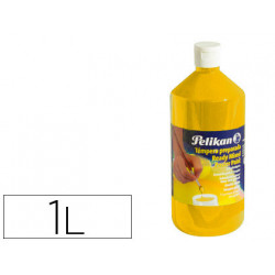 Tempera pelikan escolar 1000 ml 742/1000ml amarillo n 59a