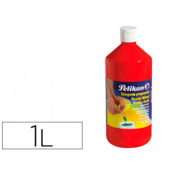 Tempera pelikan escolar 1000 ml 742/1000ml bermellon n 58