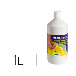 Tempera pelikan escolar 1000 ml 742/1000ml blanco n 4