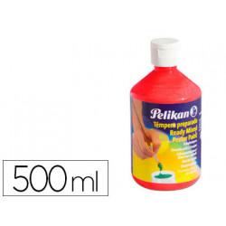 Tempera pelikan escolar 500 ml 742/500ml bermellon n 58