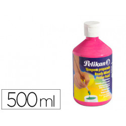 Tempera pelikan escolar 500 ml 742/500ml magenta n 43