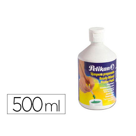 Tempera pelikan escolar 500 ml 742/500ml blanco n 4