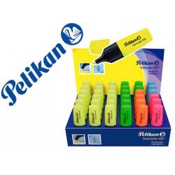 Rotulador pelikan fluorescente textmarker 490 expositor de 36 unidades colo