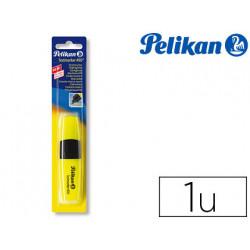 Rotulador pelikan fluorescente textmarker 490 amarillo blister de 1 unidad
