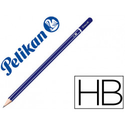 Lapices de grafito pelikan gp hexagonal hb