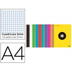 Cuaderno espiral liderpapel a4 micro antartik tapa dura 120h 100 gr cuadro