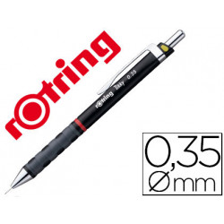 Portaminas rotring tikky 035 mm negro