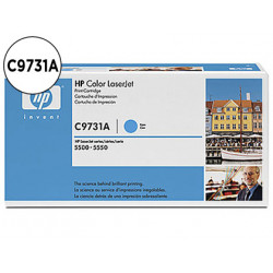 Toner hp laserjet color 5500 cian 12000pag