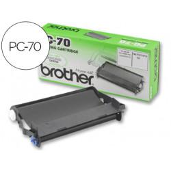 Repuesto fax t94/96 brother cartucho y bobina