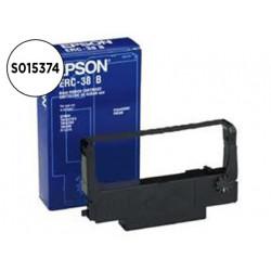 Cinta impresora epson orig tm300/tmu200/tmu210/tm375 erc38b negra