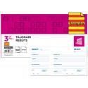 Talonario liderpapel recibos 3/fº original t105 con matriz texto en catalan