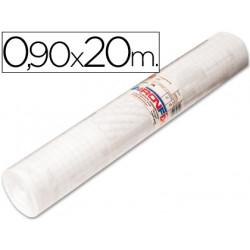 Rollo adhesivo aironfix unicolor transparente 67001 rollo de 90 cm x 20 mt