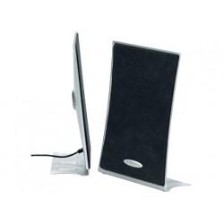 Altavoz ednet 83005 300 w subwoofer + 2 satelites ajuste de volumen y tono