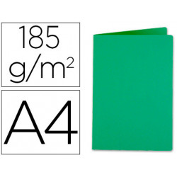 Subcarpeta liderpapel a4 verde intenso 185g/m2