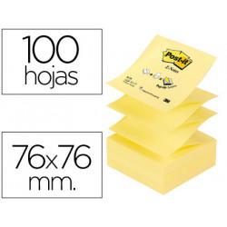 Bloc de notas adhesivas quita y pon postit 76x76 mm znotes
